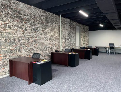 Renaissance Location Remodels Rustic Office Space  |  Before & After Pictures